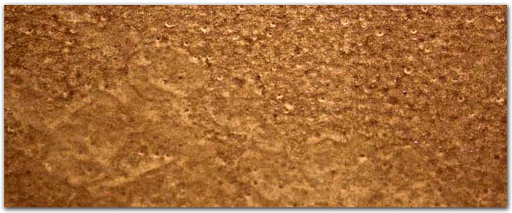 Metallic copper garage floor coating - metal pigments