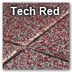 tech red color swatch